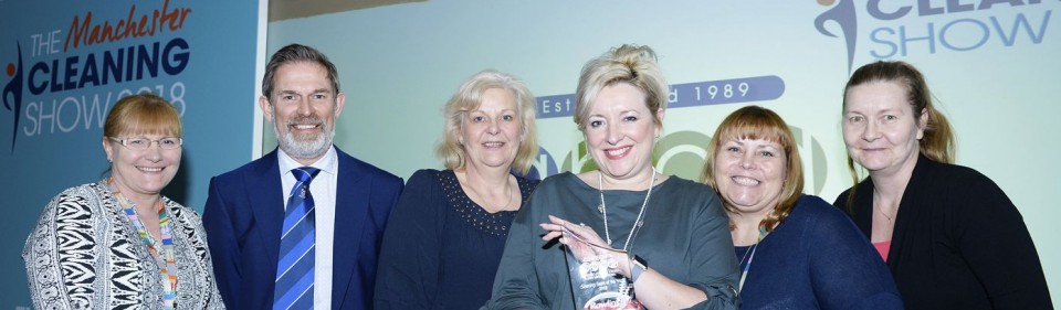 Bolton Win Cleaning Team of the Year Award 2018